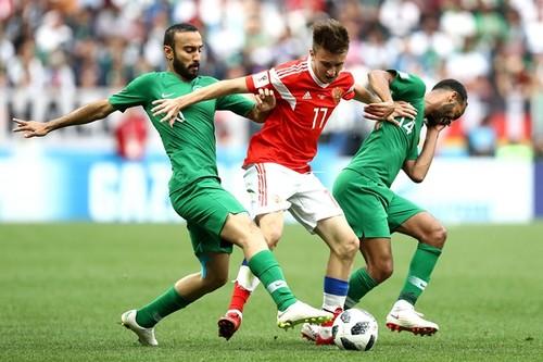 Россия - Саудовская Аравия - 5:0. Как это было