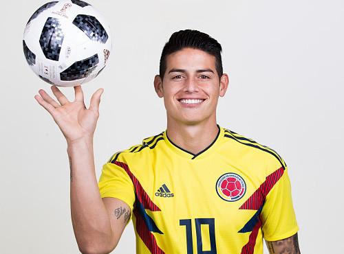 Хамес Родригес пропустил тренировку сборной Колумбии