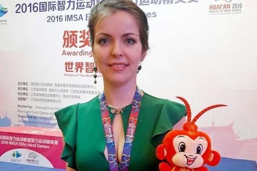 Вікторія Мотричко виборола срібну медаль на етапі Кубку світу з шашок