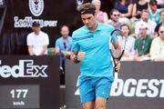Штутгарт. Федерер уверенно обыграл Раонича и взял 98-й титул в карьере