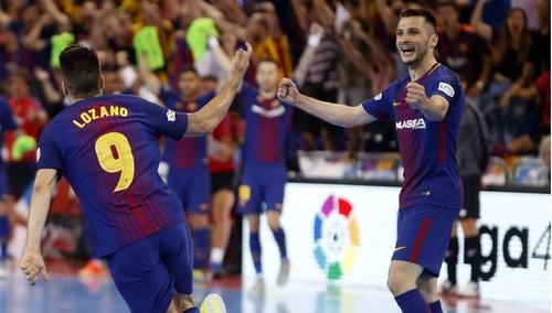 Барселона Ласса сравняла счет в серии с Интером Мовистар