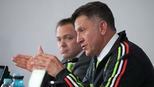 Тренер сборной Мексики: «В первом тайме мы доминировали»