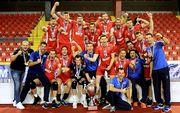 Серебряную Евролигу у мужчин выиграла Хорватия, а у женщин - Швеция