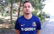 Сергій Чеботаєв – гравець Дніпра-1