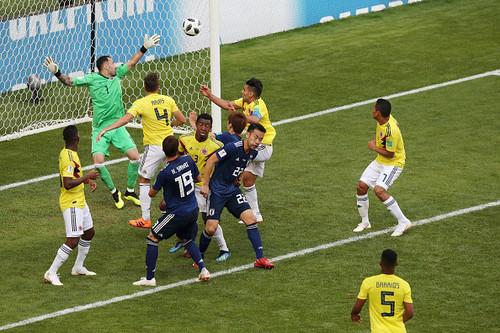 Колумбия – Япония – 1:2. Видео гола Осако