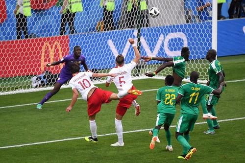 Польша – Сенегал – 1:2. Гол Крыховяка