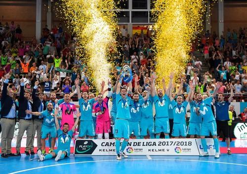 Интер Мовистар выиграл чемпионат Испании пятый раз подряд