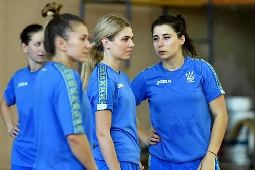 Женская сборная Украины отправилась в Италию