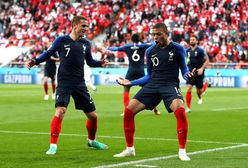 Килиан Мбаппе - лучший игрок матча Франция - Перу