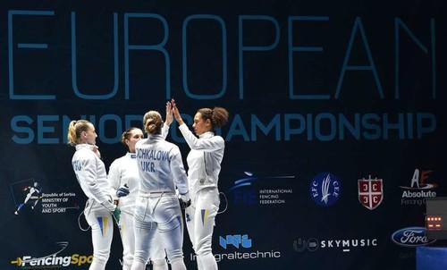 Фехтование. Украинки заняли четвертое место на чемпионате Европы