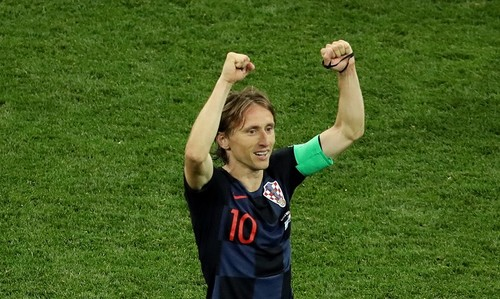 Модрич – лучший игрок матча Аргентина – Хорватия