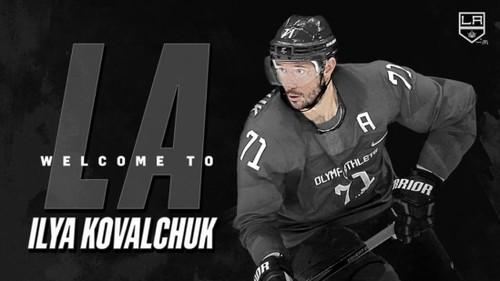 НХЛ. Ковальчук подписал контракт с Лос-Анджелесом