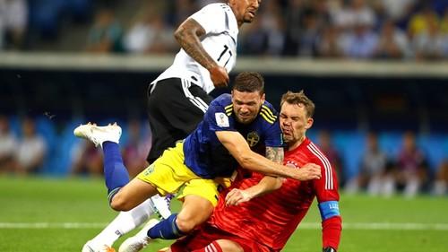 Германия - Швеция - 2:1. Видео голов и обзор матча
