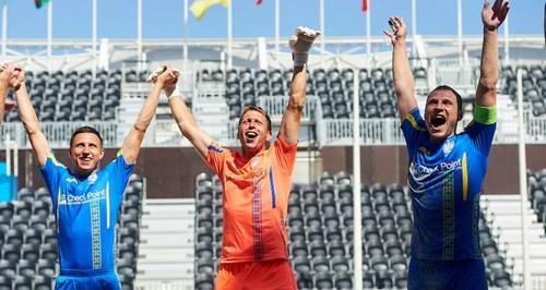 Украина обыграла Германию и выиграла группу первого этапа Евролиги