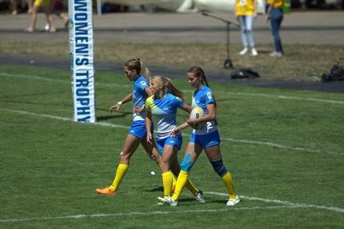 Женская сборная Украины по регби-7 проиграла Голландии в финале ЧЕ