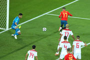 Испания – Марокко. Видео гола Аспаса