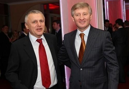Ахметов поздравил Суркиса с днем рождения