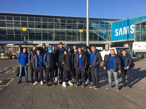 Збірна України відправилася до Швеції на матч відбору до ЧС-2019
