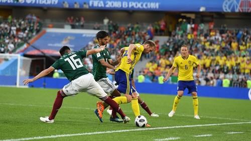 Швеция разгромила Мексику и вышла в 1/8 финала