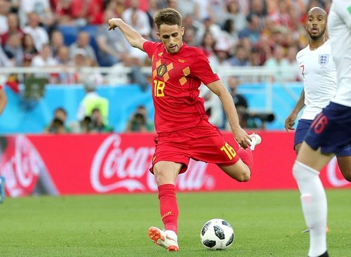 Бельгия - Англия. Янузай признан игроком матча