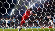 Уругвай — Португалия. Видео гола Пепе