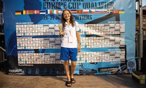Христина Філевич стала MVP кваліфікації чемпіонату Європи