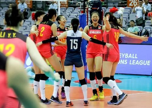 Бронзовым призером женской Лиги Наций стала сборная Китая