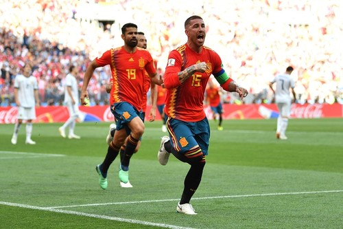 Испания – Россия – 1:0. Автогол Игнашевича