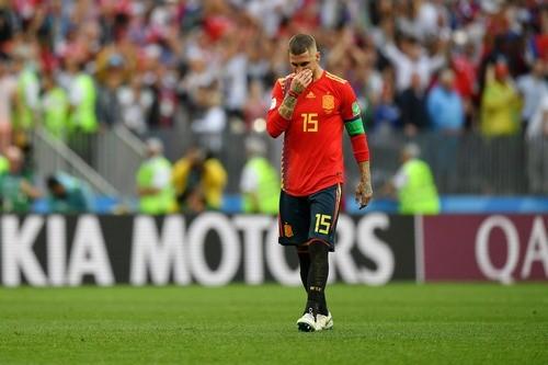 Серхио РАМОС: «Больно вылетать с чемпионата мира»