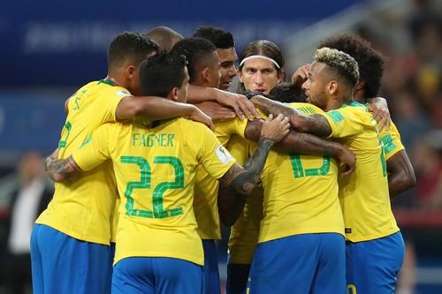 Бразилия - Мексика: стартовые составы команд