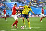 Швеция – Швейцария –1:0. Видео голов и обзор матча