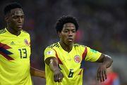 Колумбия - Англия - 1:1. Гол Мины
