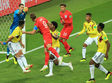Англия с трудом одолела Колумбию и стала последним четвертьфиналистом