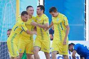 Евролига. Пляжный футбол. Украина - Испания. Смотреть онлайн. LIVE