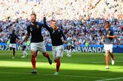 Уругвай – Франция – 0:2. Гол Гризманна