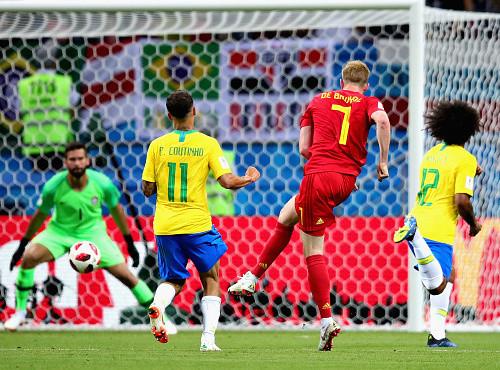 ЧМ-2018. Бельгия выиграла четвертьфинальную битву у Бразилии