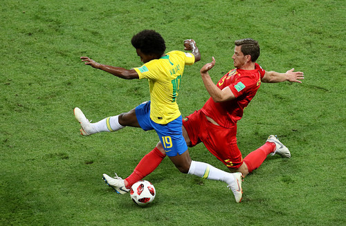 Бельгия – Бразилия. Видео голов и обзор матча