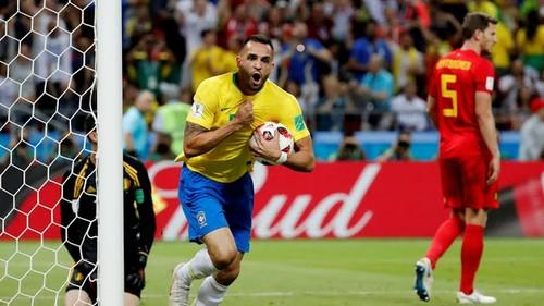 Бельгия – Бразилия. Видео гола Ренато Аугусто