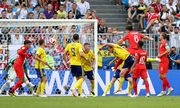 Швеция – Англия. Видео гола Магуайра