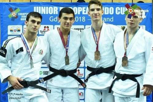 Українці вибороли три медалі на Кубку Європи з дзюдо серед юніорів