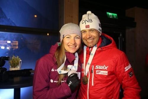 Домрачева и Бьорндален будут путешествовать по Беларуси и Норвегии