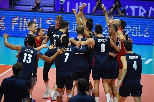 Бронзовым призером в мужской Лиге Наций стала сборная США