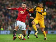 Манчестер Юнайтед обыграл Брайтон, Кристал Пэлас выиграл у Сток Сити