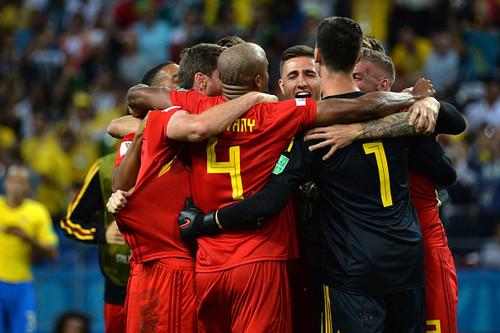 5 игроков сборной Бельгии попали в символическую сборную 1/4 финала ЧМ