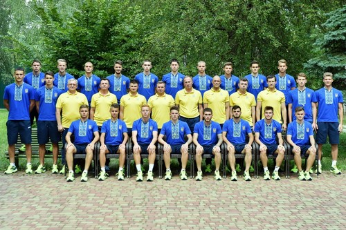 Форма сборной Украины будет напоминать вышиванку