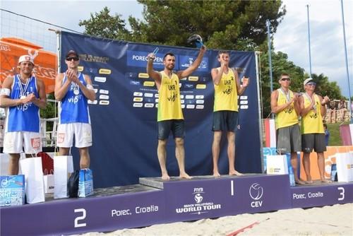 Попов и Емельянчик стали победителями турнира в Хорватии