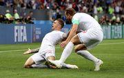 Хорватия — Англия. Видео гола Триппьера