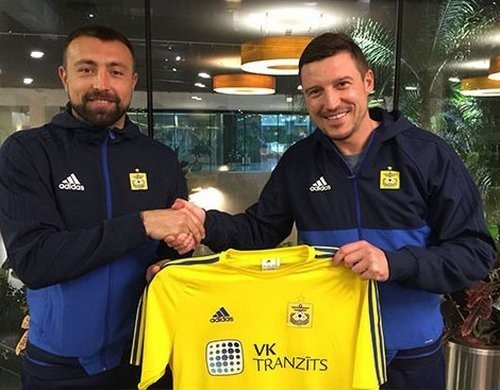 Антонов расторг контракт с латвийским Вентспилсом