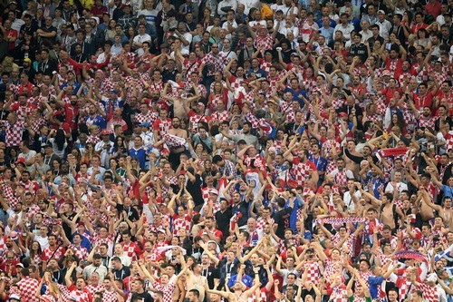 Фанаты Хорватии скандировали «Слава Украине!» на матче с Англией