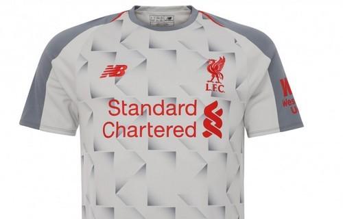 Ливерпуль представил третий комплект формы